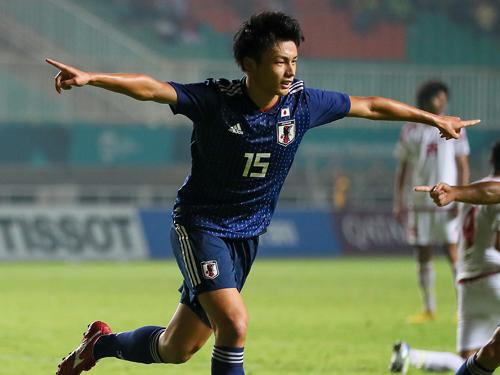 U-21日本代表 上田綺世