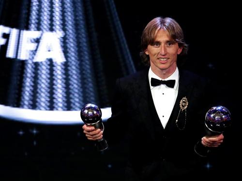 モドリッチ FIFA年間MVP
